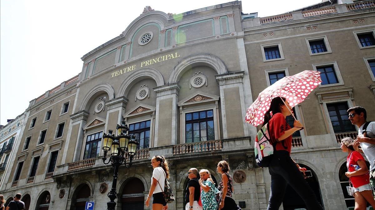 El Teatre Principal, el más antiguo de la ciudad.