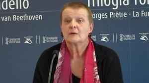 Helga Schmidt, en el 2011.
