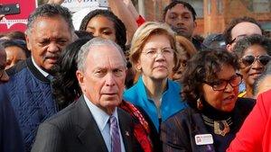 Una convenció oberta o negociada, l'esperança de Warren i Bloomberg