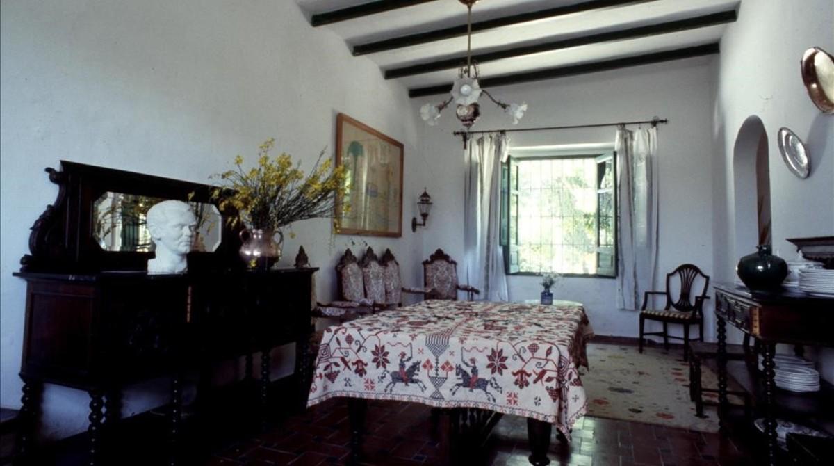 Tras el rastro de garc a lorca for Huerta de san vicente muebles