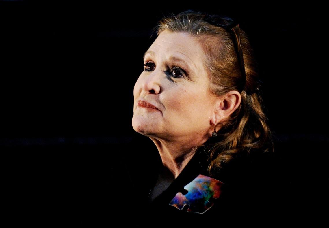 Carrie Fisher murió por una apnea del sueño