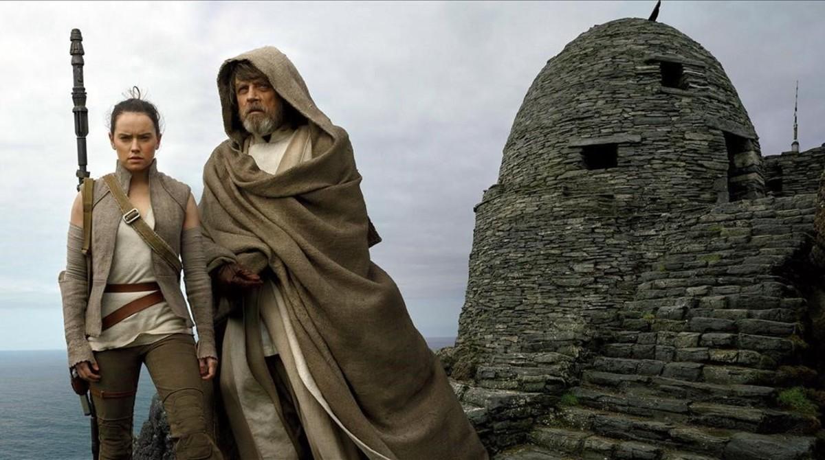 Una escena de Star Wars: los últimos jedi, una de las películas más pirateadas.