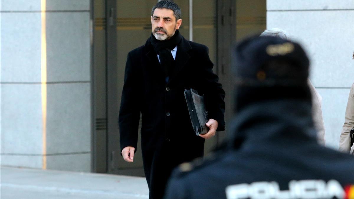 El exjefe de los Mossos Josep Lluís Trapero declara de nuevo ante la jueza Lamela.