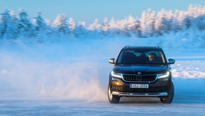 Skoda winter test un 4x4 para todo