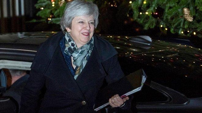 Theresa May afronta avui una moció de confiança pel 'brexit'
