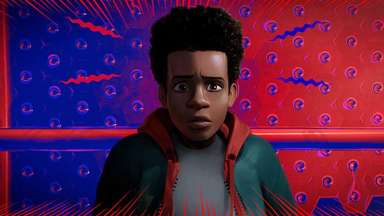 Miles Morales en Spider-Man: Un nuevo universo