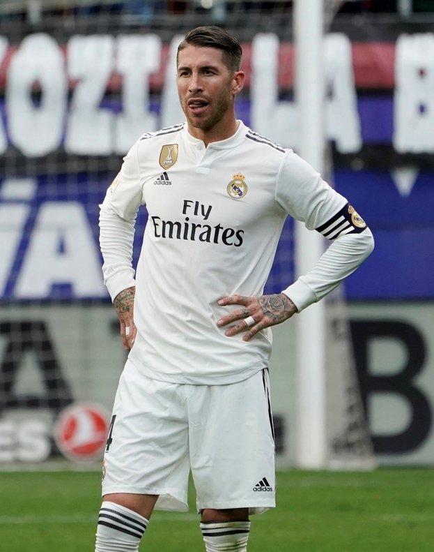 Sergio Ramos, jugador del Real Madrid.