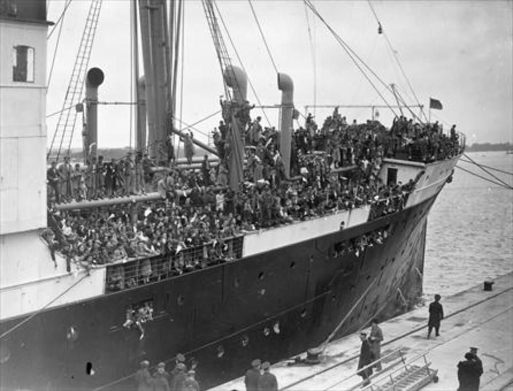 7.000 españoles volvieron en ocho barcos que se fletaron entre 1956 y 1960.