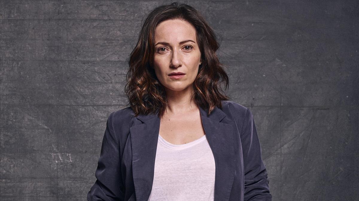 La actriz Olaya Caldera.