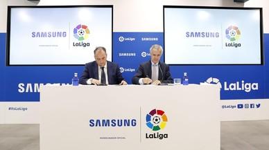 Samsung y LaLiga firman un acuerdo de colaboración para los próximos 3 años