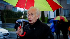 Albert Boadella en un acto político en Bruselas.