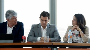 Albert Rivera, durante la reunión de la ejecutiva tras las elecciones del 26 de junio.