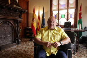El alcalde de Viladecans Carles Ruiz.