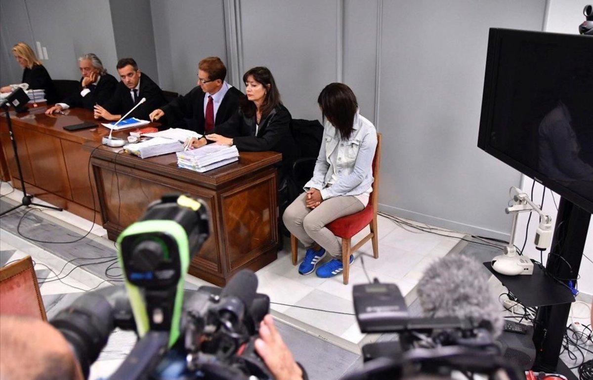 Ana Julia Quezada, en la sexta sesión del juicio por la muerte del pequeño Gabriel.