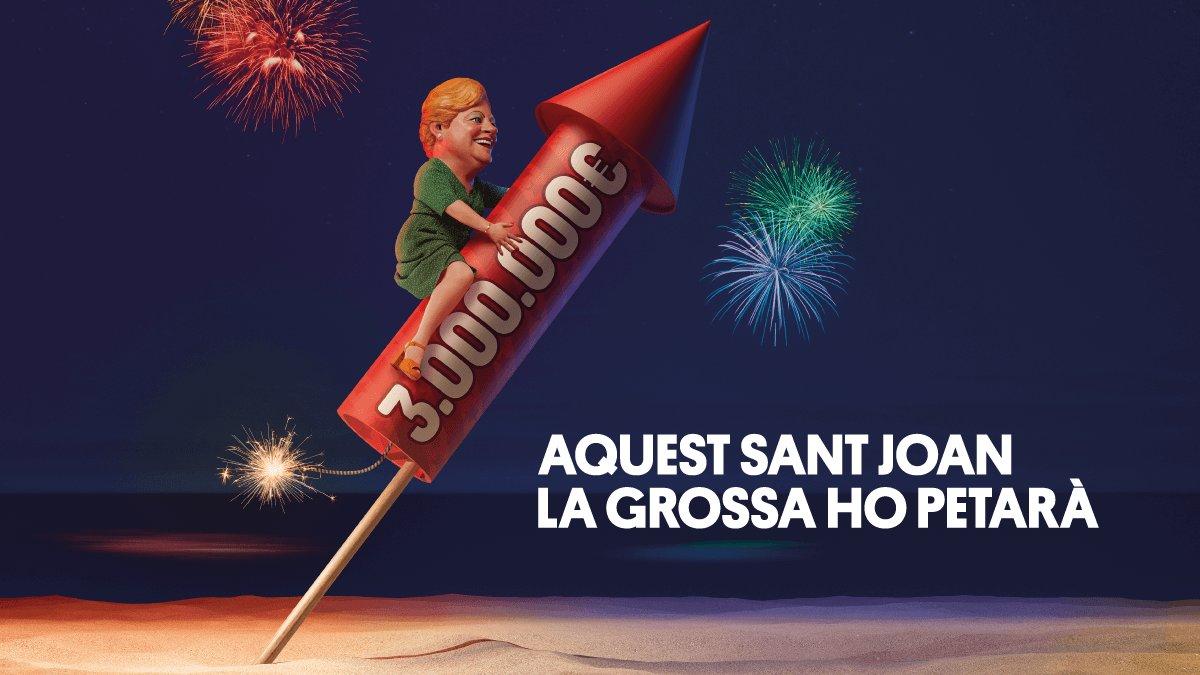 Imagen promocional de La Grossa de Sant Joan 2019.