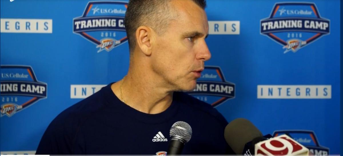 Bill Donovan, técnico de los Thunder