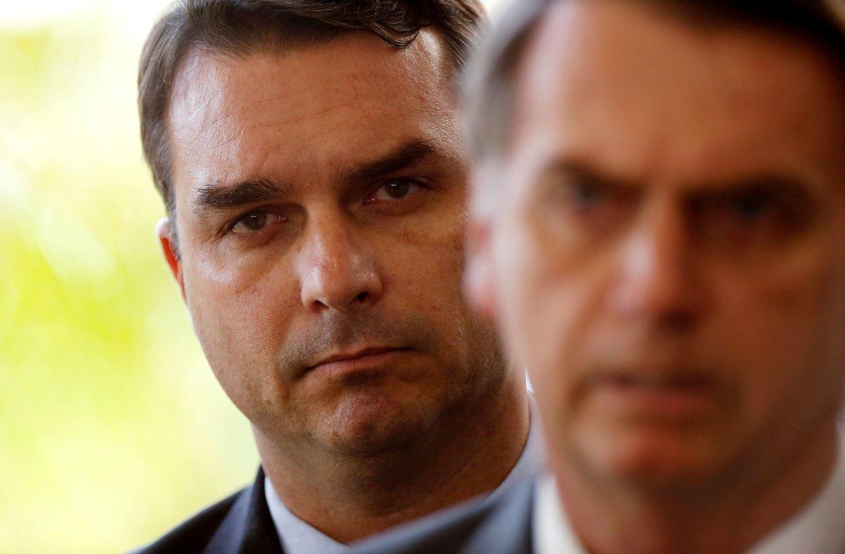 Flavio Bolsonaro, hijo del presidente de Brasil, Jair Bolsonaro.