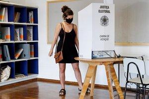 Votaciones municipales en Brasil.