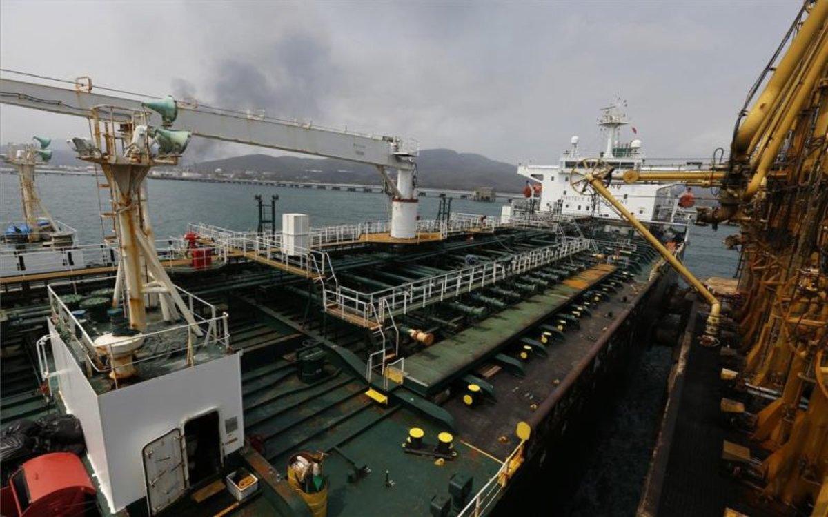 Un buque iraní confiscado por los EEUU.