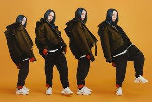 La cantante Billie Eilish, en una de las imágenes de la campaña de MCM.