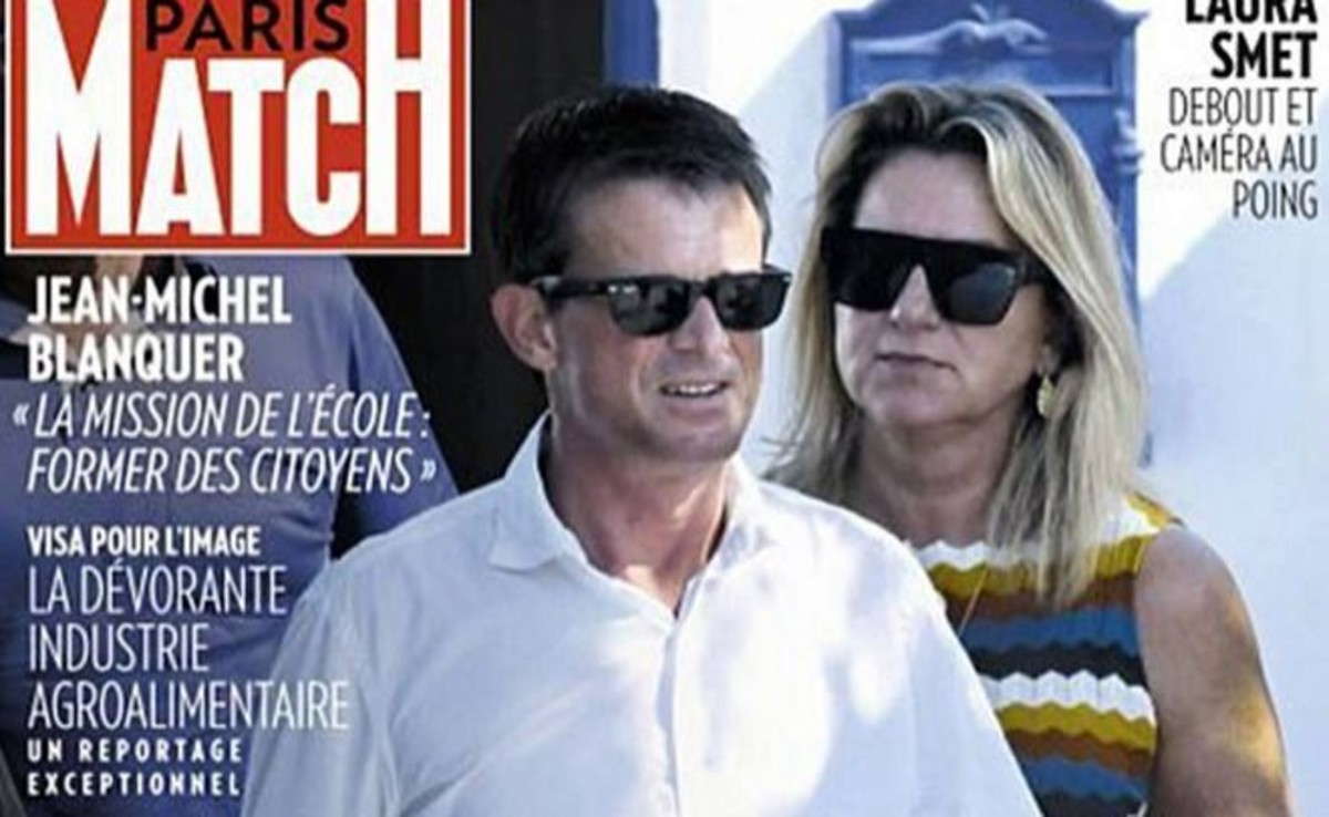 Captura de pantalla de la portada de la revista 'Paris Match'.
