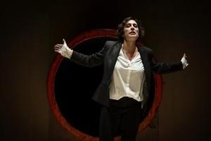Clara Segura, en el monólogo Conillet.