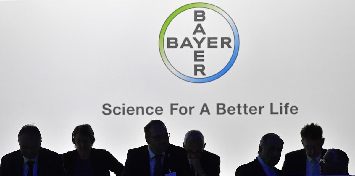 El consejo de administración de Bayer en Bonn, en abril del 2017.