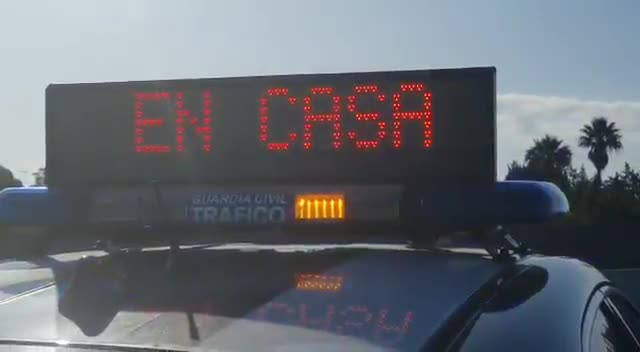 Controles de tráfico de la Guardia Civil.