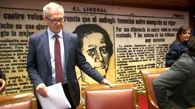 Cultura pide a la Audiencia Nacional la intervención de la SGAE. En la imagen, el ministro de Cultura, José Guirao.