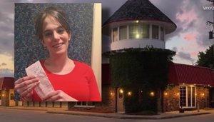 Danielle Franzoni recibió la generosa propina de 2,020 dólares.