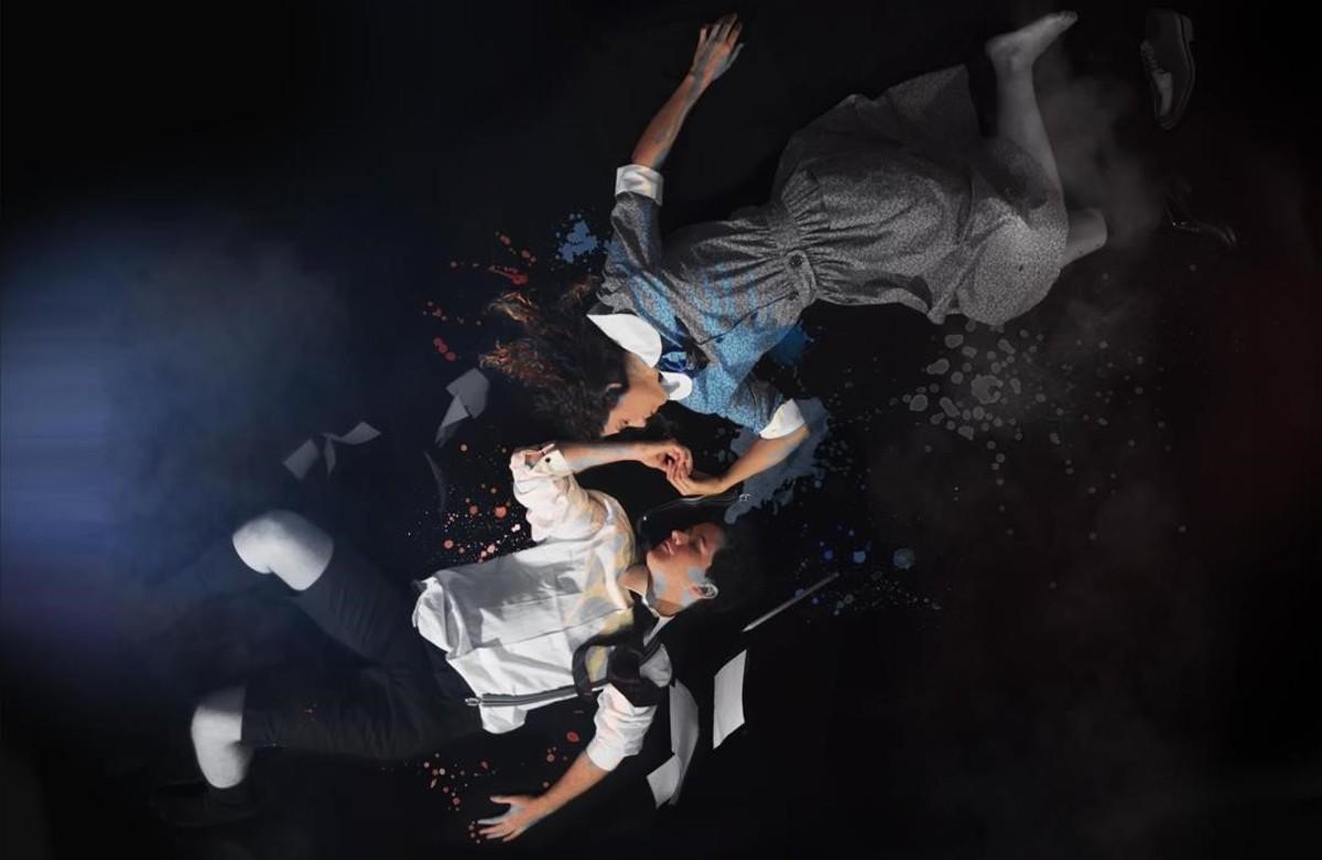 Escena del musical El despertar de la primavera.