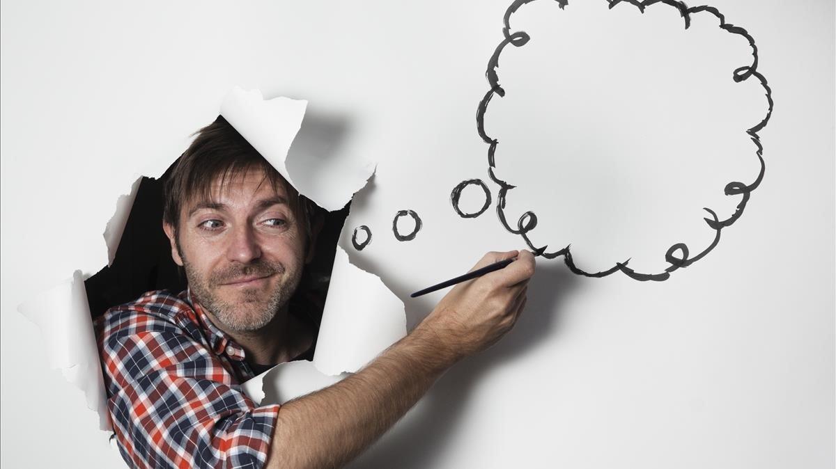 El dibujante Paco Roca, que ha desarrollado un proyecto para la galería 6 del IVAM