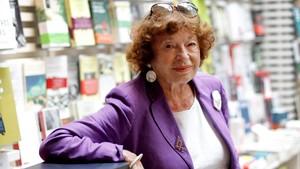 Inge Feltrinelli, en una de sus visitas a Barcelona.