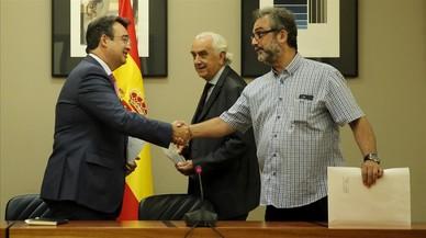 El laudo arbitral obliga a Eulen a anular las represalias contra los vigilantes
