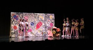 Escena de la Mostra Teatre Escolar de Sabadell.