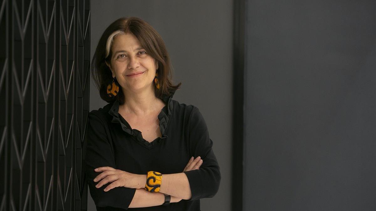 La escritora catalana Rosa Ribas, en Barcelona.