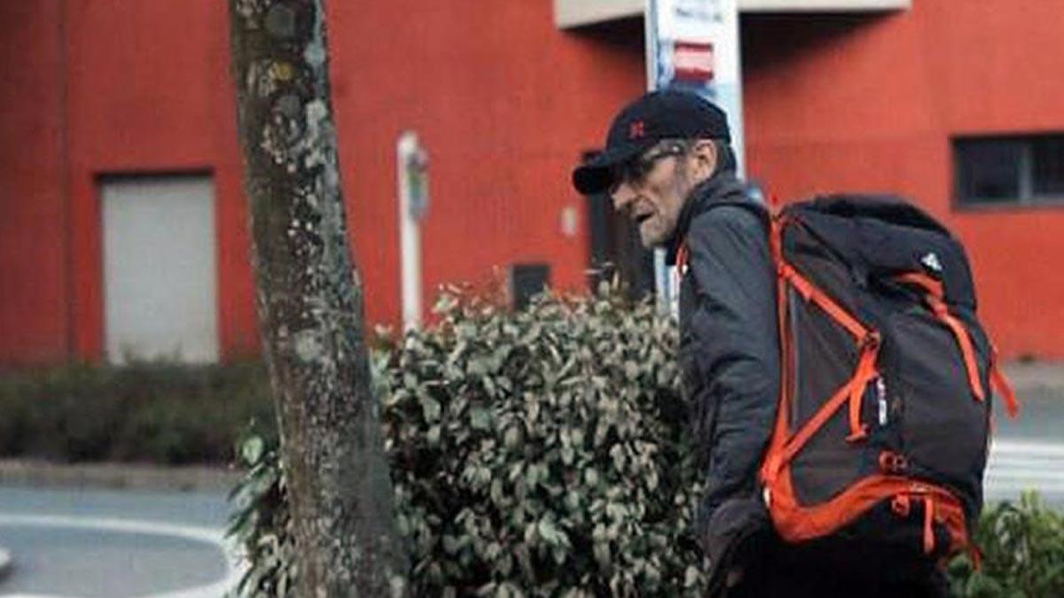 El etarra Josu Ternera sale de la cárcel de París. En la foto,Josu Ternera en la última imagen antes de ser detenido enSallanches (Francia).