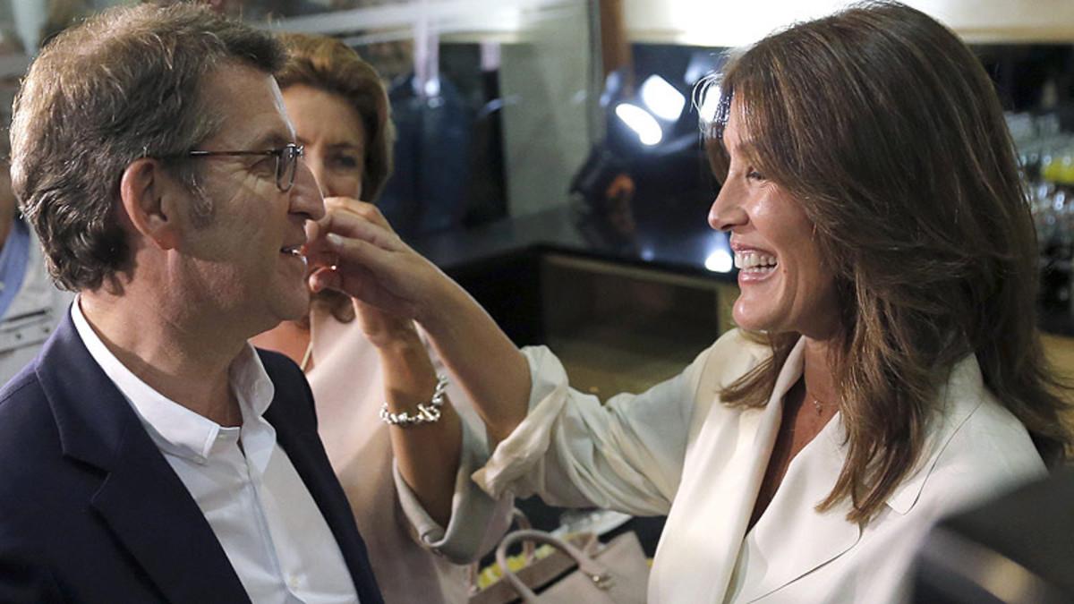 Eva Cárdenas: Así es la mujer de Alberto Núñez Feijóo