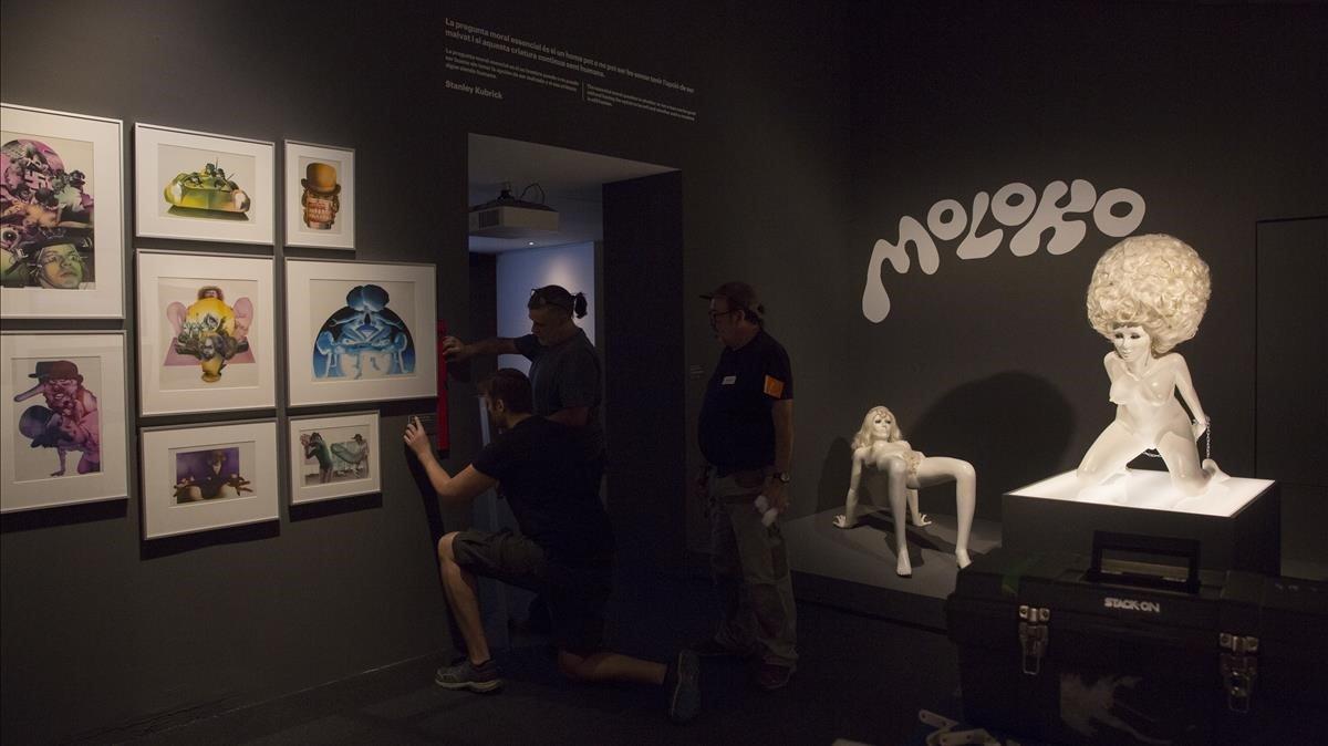 Exposición sobre Stanley Kubrick en el CCCB