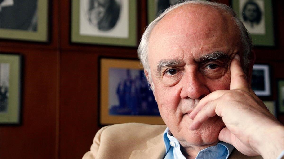 El filósofo y abogado chileno Agustín Squella.