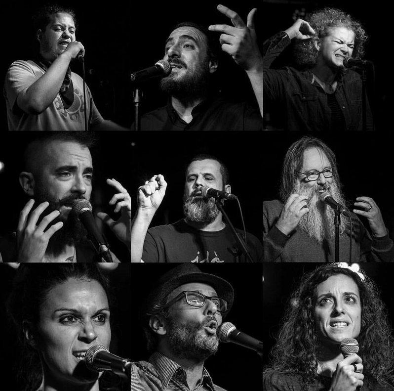 Finalistas de la 5a edición del Llobregat Slam Poetry