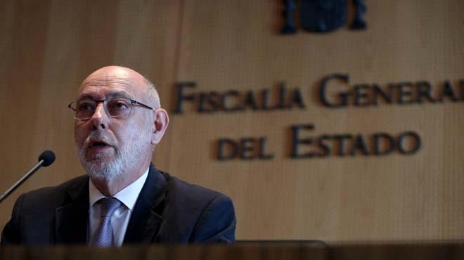 El fiscal anticorrupción, Manuel Moix, ha presentado su dimisión al fiscal general del Estado, José Manuel Maza.