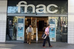 FNAC, en elTriangle de Plaza de Catalunya.