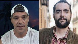 Suspenden la cuenta en Twitter de Frank Cuesta tras su último ataque a Dani Mateo