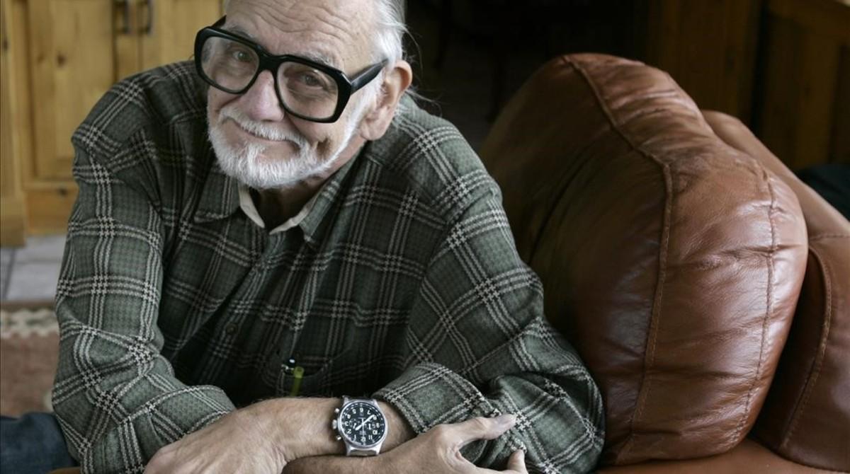 George A. Romero, fotografiado en el 2008.