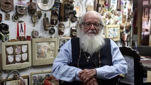 Héctor Gallo, en su casa de Alamar, en Cuba.