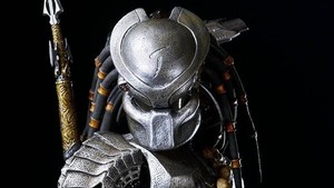 El icónico Predator, con su armadura fibrosa