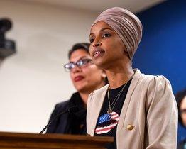 La congresista estadounidense Ilhan Omar. EFE