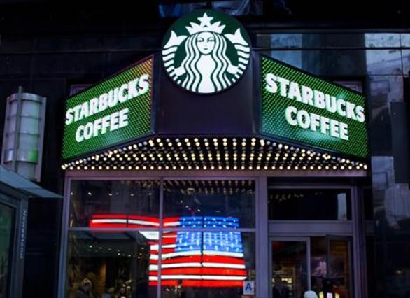Imagen de un Starbucks de Nueva York.