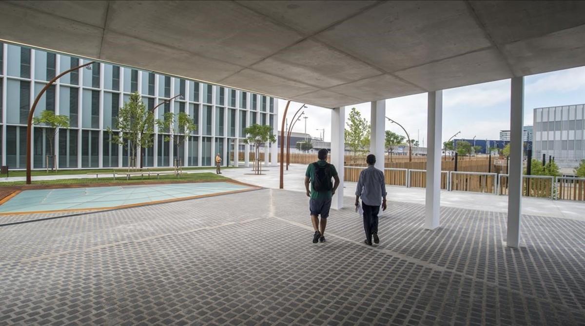 Aspecto del nueo campus Diagonal-Besòs de la Universitat Politècnica de Barcelona (UPC).